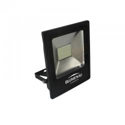 Refletor Led 50w Slim 6000k Luz Branca Bivolt Ip65 Blumenau
